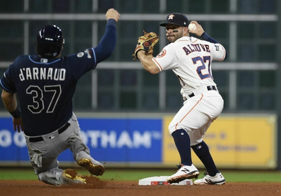 ALDS Rays Astros Baseball 9