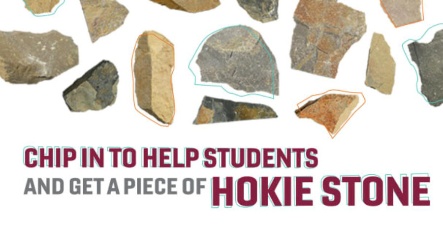 Chip in For Hokies Stone