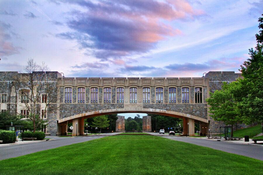 Virginia Tech Torgersen Hall
